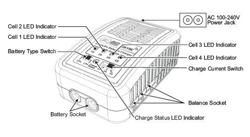 skyrc charger e4 lipo  life